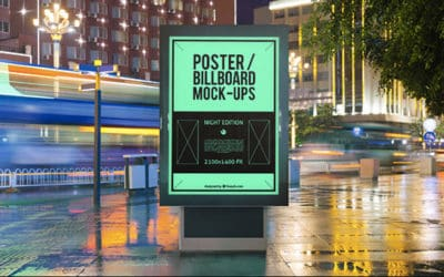 10 High Quality Advertising Photoshop Mockups for Free