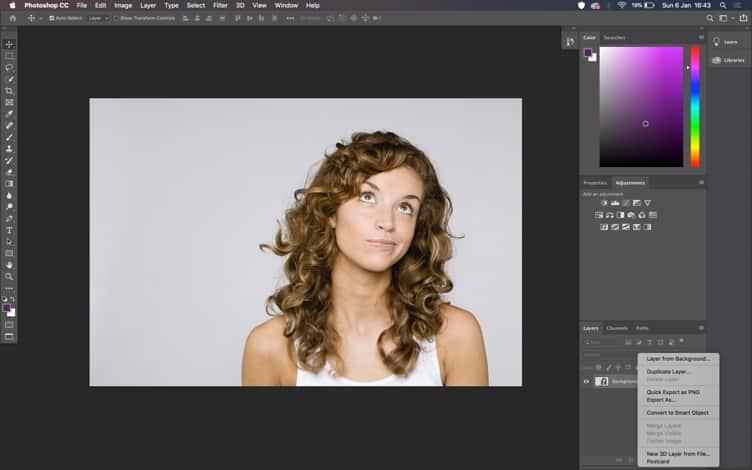 Duplicate layer adobe photoshop
