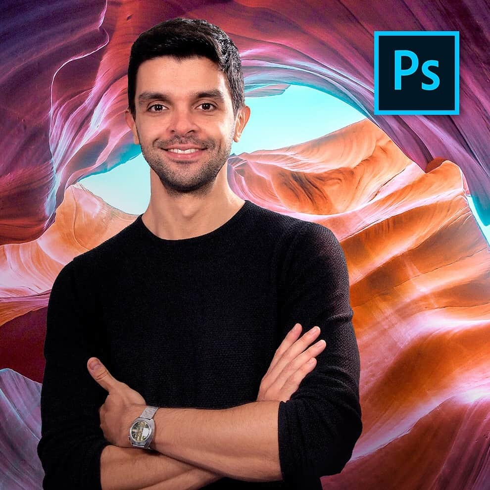 Carles Marsal with Photoshop logo