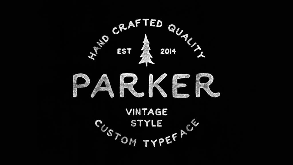 Parker Free Fonts