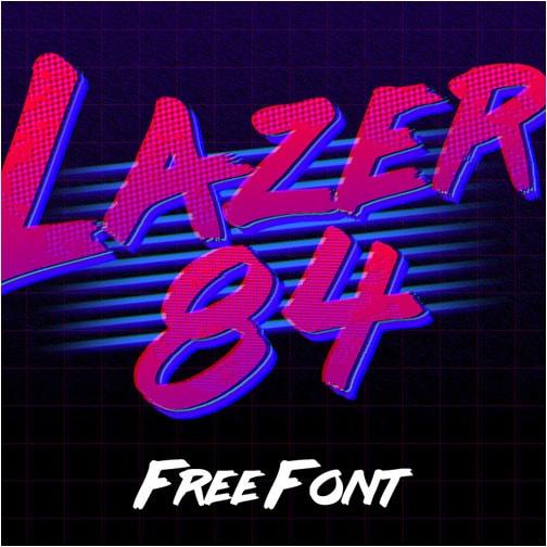 Design 84 free font