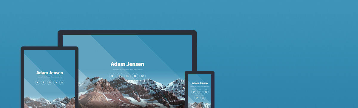 Aerial html5 free template to download
