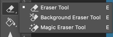 eraser tool photoshop