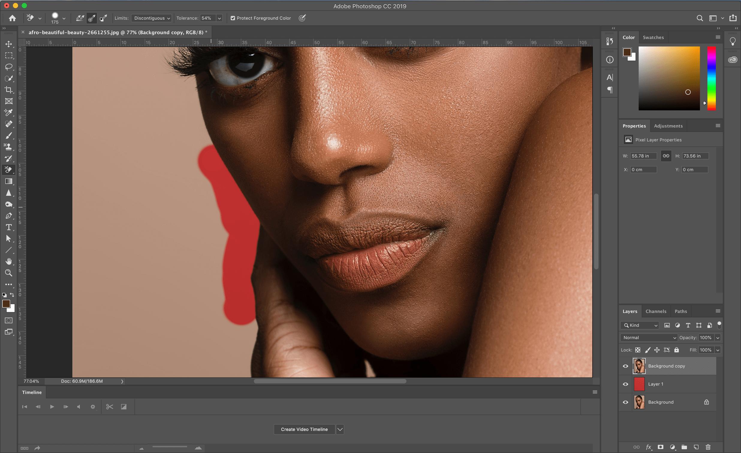 erase background photoshop