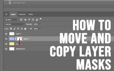 How to Move And Copy Layer Masks