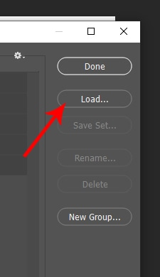 load brush into photoshop
