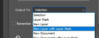new layer with layer mask photoshop