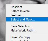 select and mask photoshop