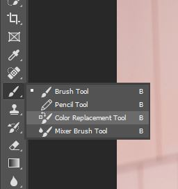 color replacement tool photoshop