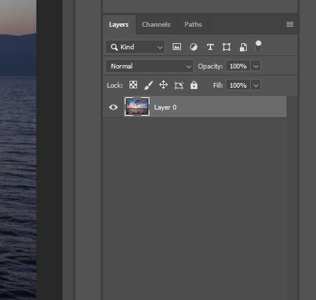 layer panel photoshop