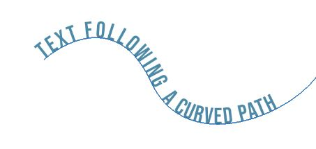 modify curved path photoshop